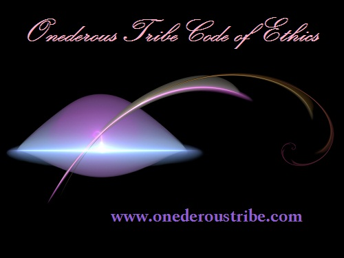 Onederous Tribe Code of Ethics