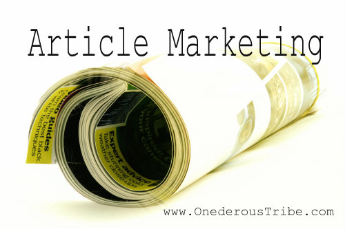 Article Marketing Business Inspiration