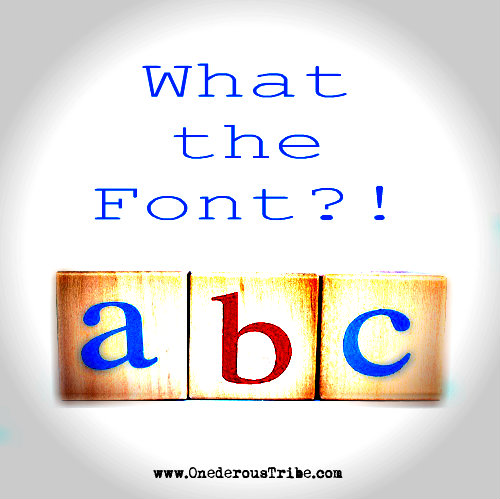 What The Font Creative Inspiration