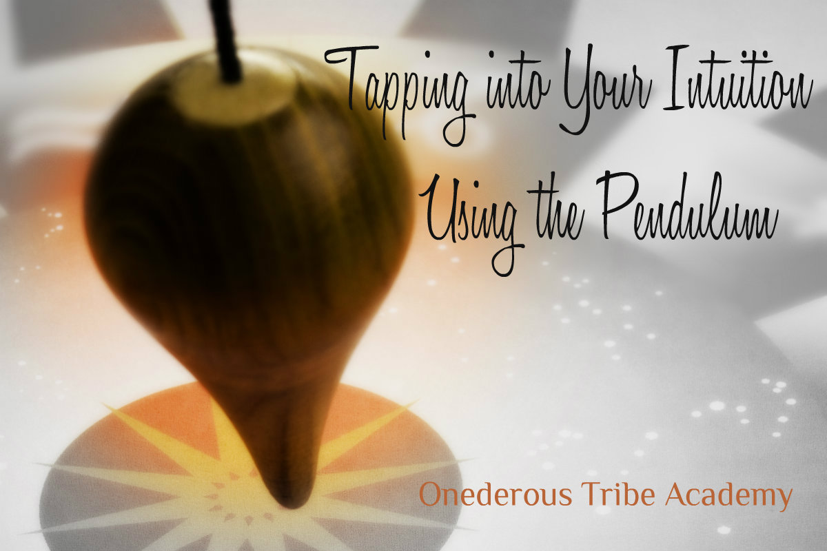 Tap Into Your Intuition with the Pendulum Image