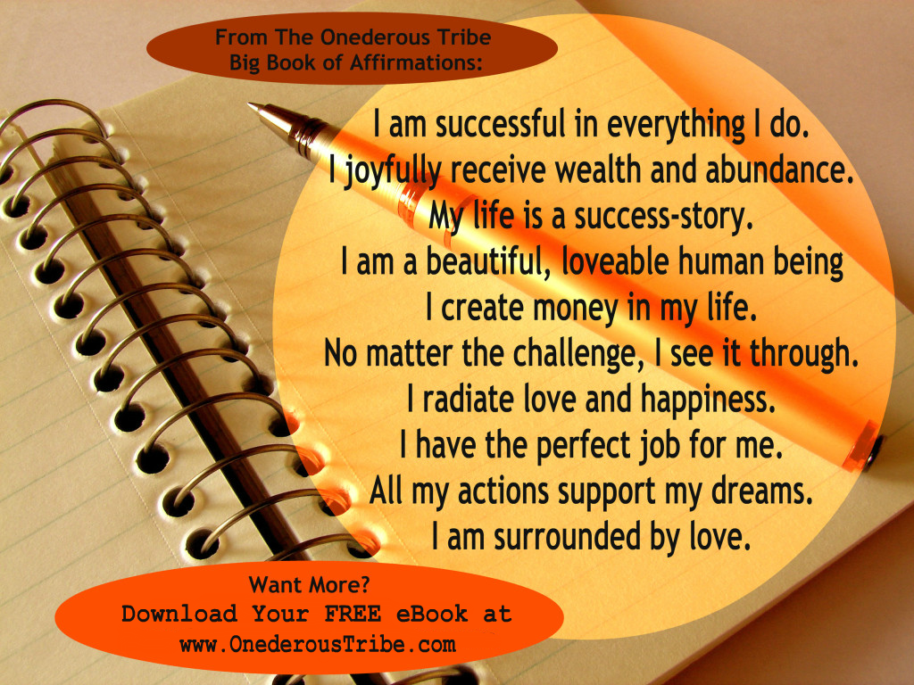 Free eBook :: Big Book of Affirmations Image